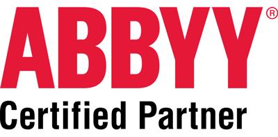 Abbyy Certified Logo